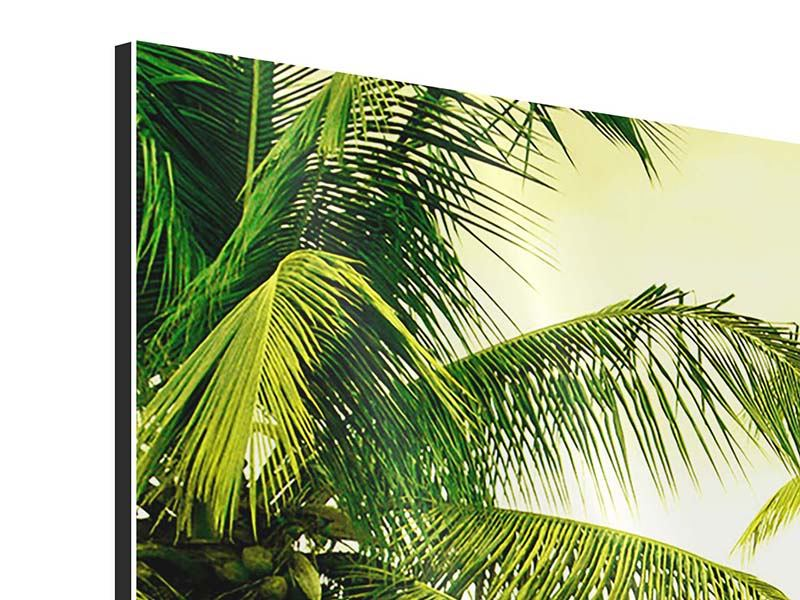 Modern 5 Piece Aluminium Print Mural Ready for a vacation