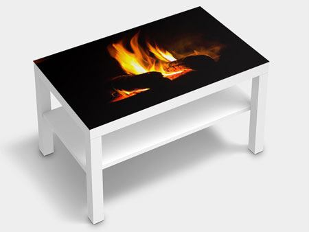 Furniture Foil The Fireplace