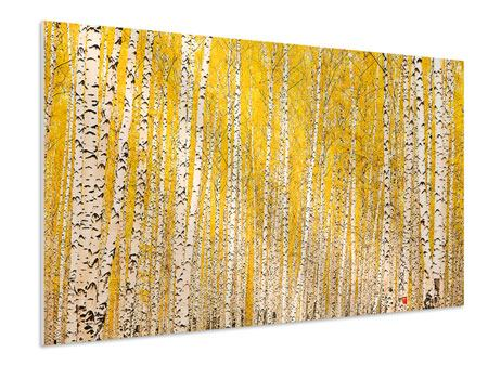 Forex Print The Birch Forest In Autumn