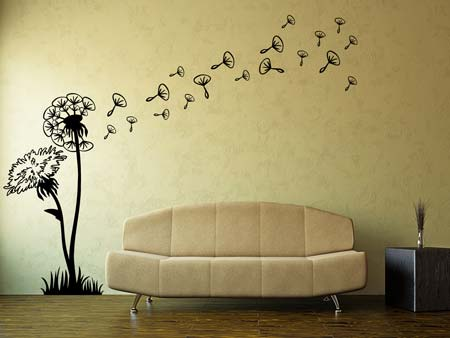 Wall Sticker Dandelions