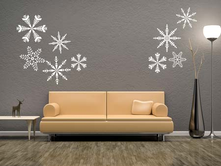 Wall Sticker crystal star