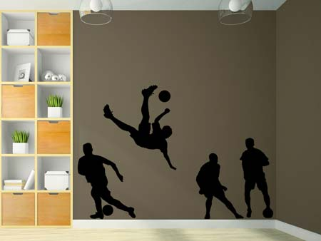 Wall Sticker footballer