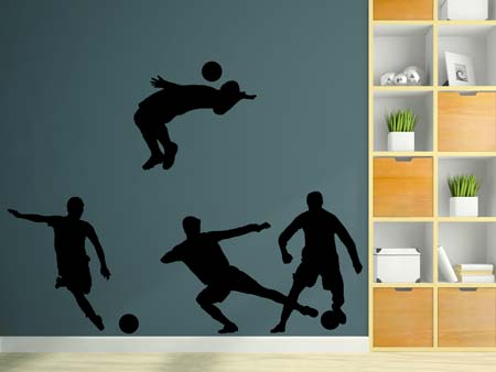 Wall Sticker The football game