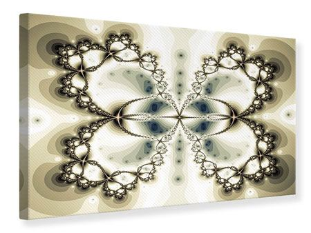 Canvas Print Abstract Butterfly