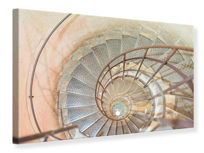 Canvas Print Spiral Staircase