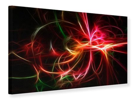 Canvas Print Fraktally Light Spectacle