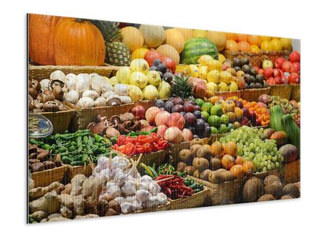 Metallic Print Fruit Market