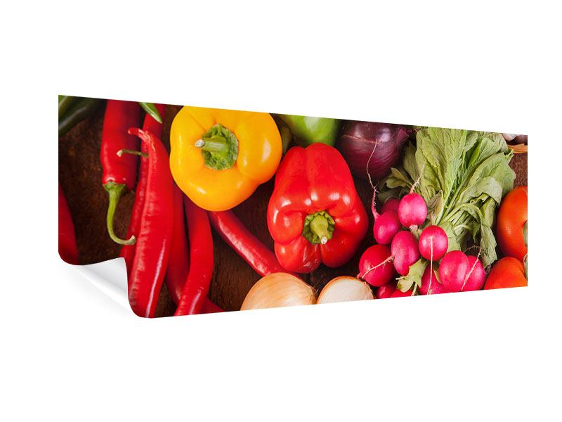 Panoramic Poster Healthy Vegetables