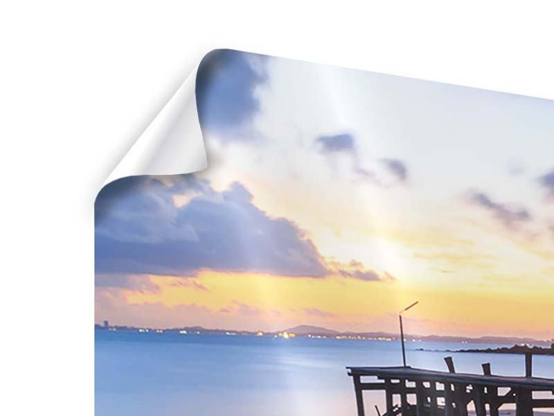 Panoramic 3 Piece Poster Island Dream