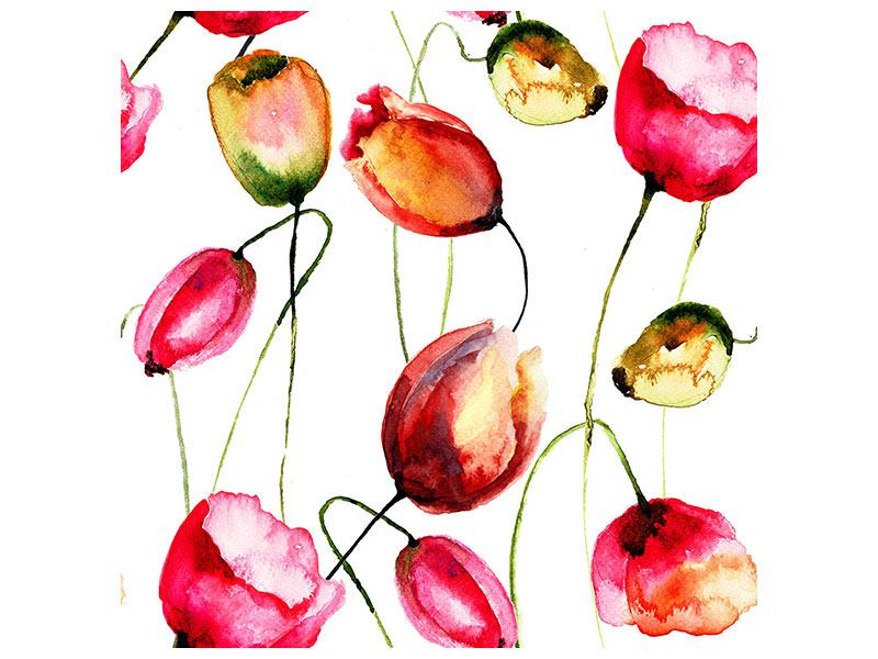 Poster Painting The Tulips