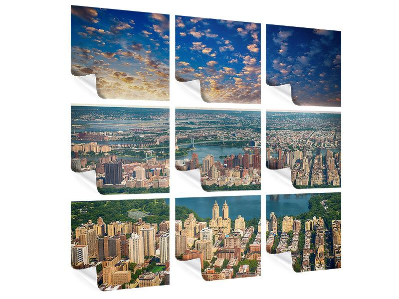 9 Piece Poster New York