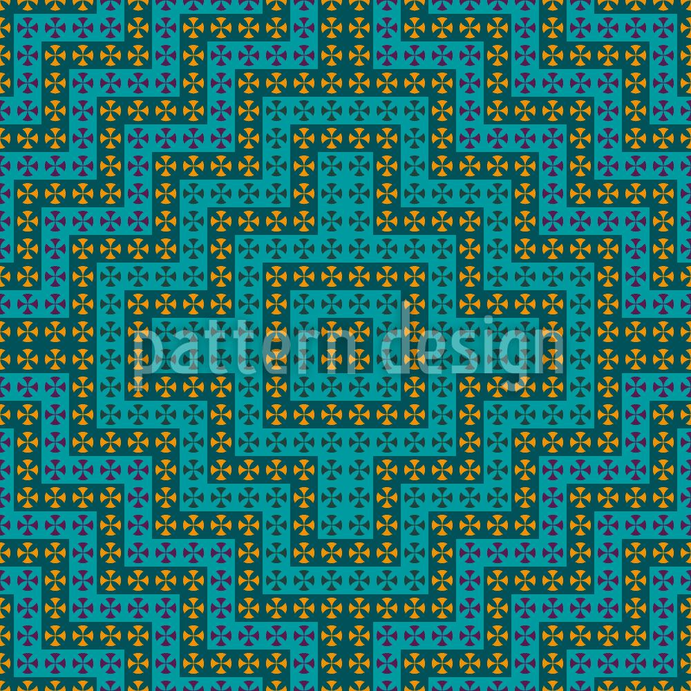 Papier peint design Moorish Distraction