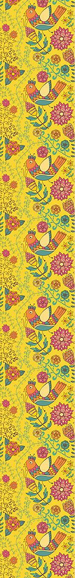 Papel tapiz de diseño The Summer Of The Paradise Birds