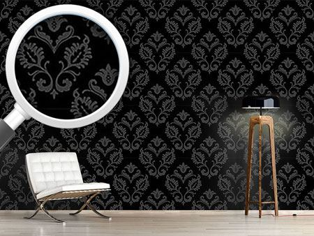 Design Wallpaper Aramis Black