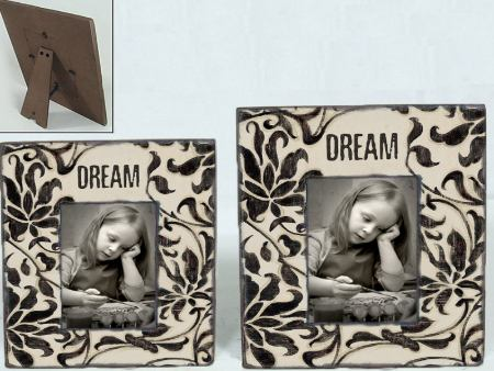 Vintage Wooden Photo Frame Luxe DREAM